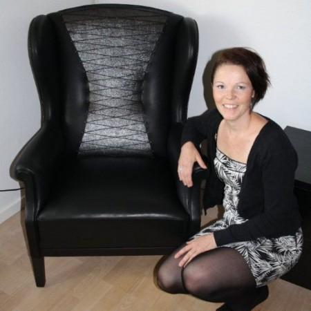 Anja Johansen fra Møbelværkstedet fik bronzemedalje til sin svendeprøve