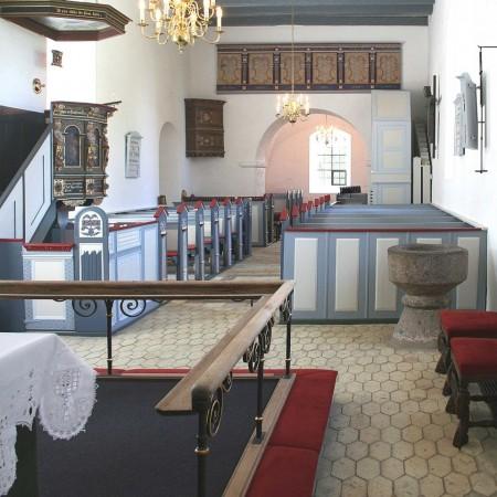 Kirkeinventar, renoveret af Møbelværkstedet